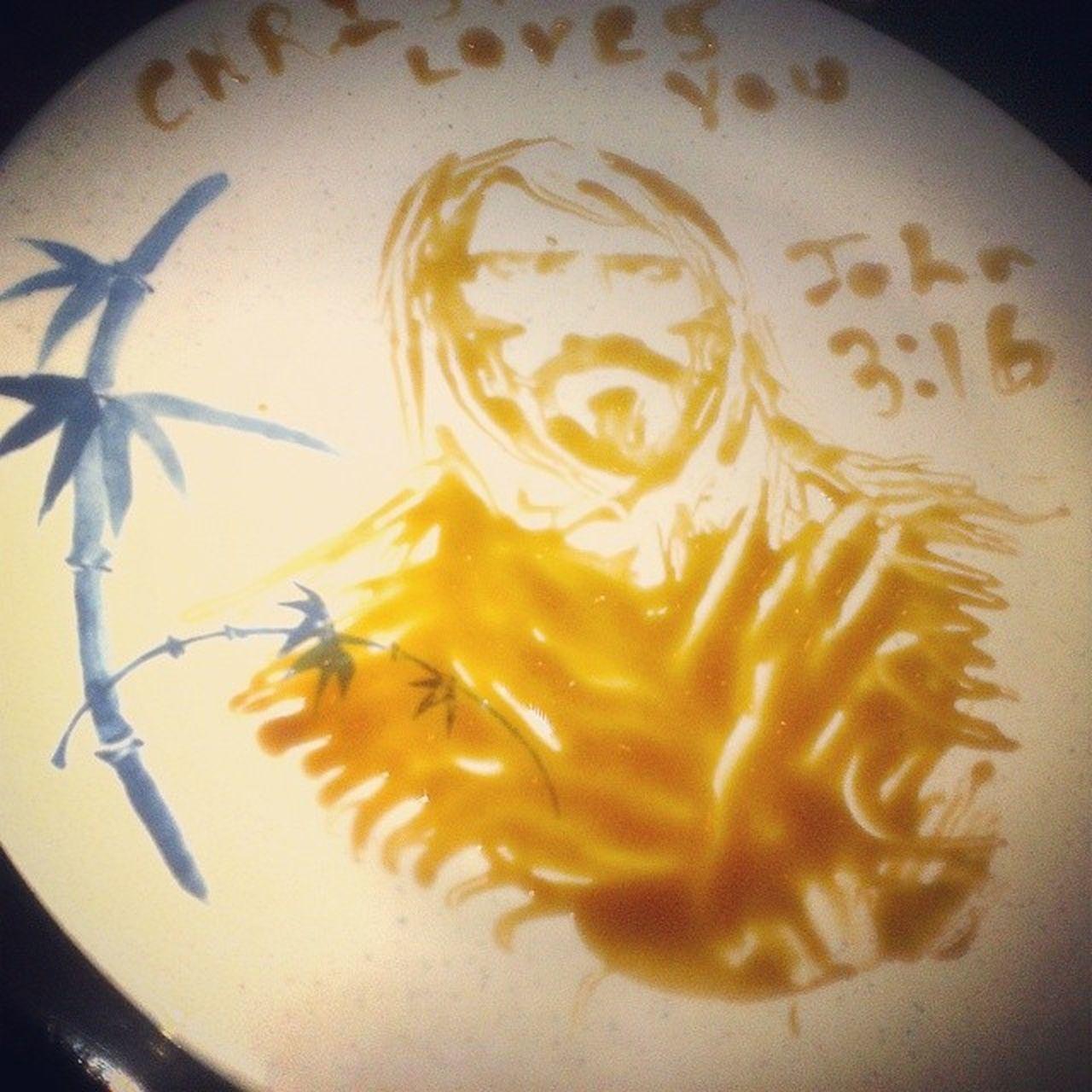 Eel Sauce Jesus @ Mulan's Evandalism