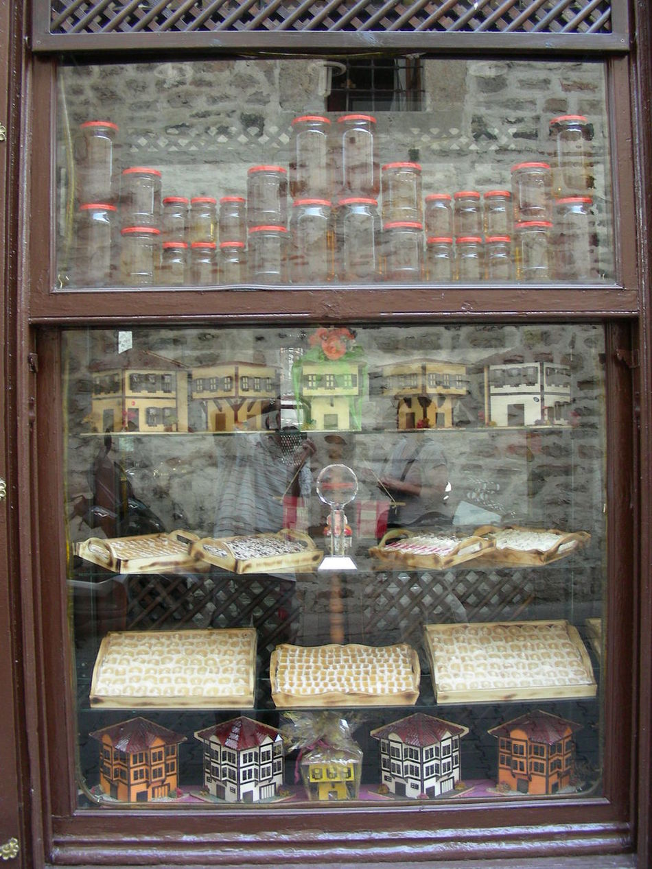 Day No People Old Town Safranbolu Shop Window Shop Window Display. Shops Stoves Traditional Merhandise Travel Destinations Travel Photography Turkey Turkish Delight