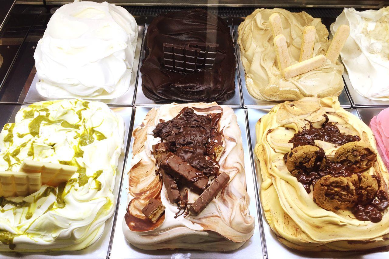 Icecream Ice Cream Ice Cream Parlor Selection
