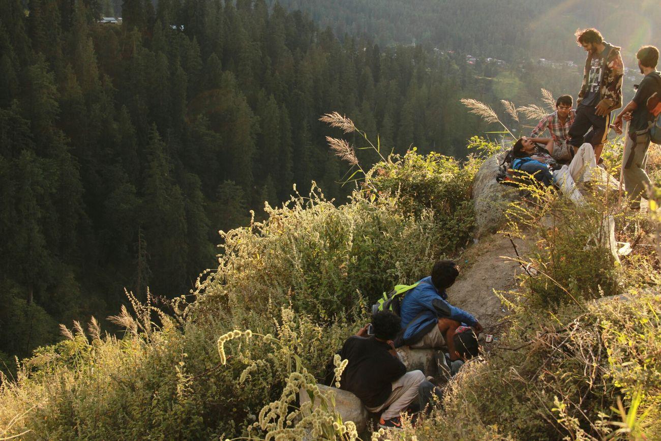 Kasoli, India Track To Parvati Valley