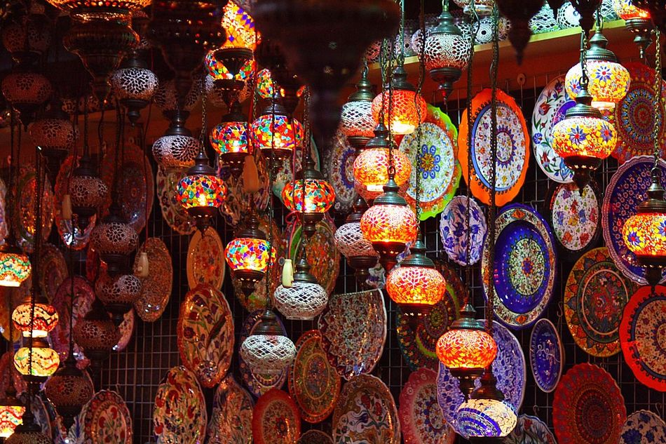 Art And Craft Multi Colored Variation Large Group Of Objects Close-up Illuminated Global Village Dubai Lights EyeEmNewHere EyeEm Diversity Art Is Everywhere Break The Mold