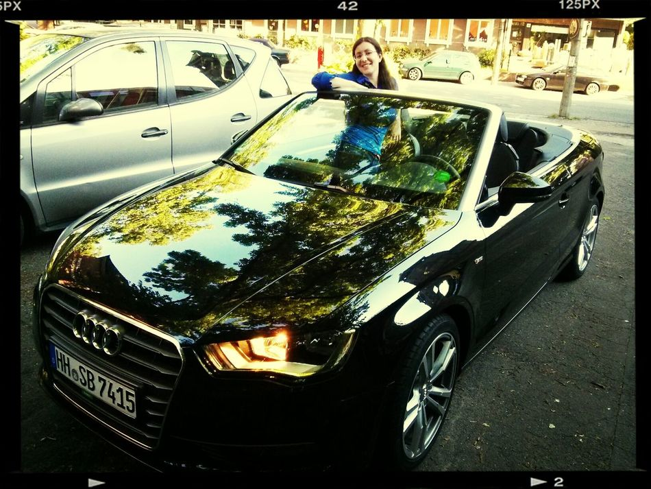 our (rental) car for the sunny weekend