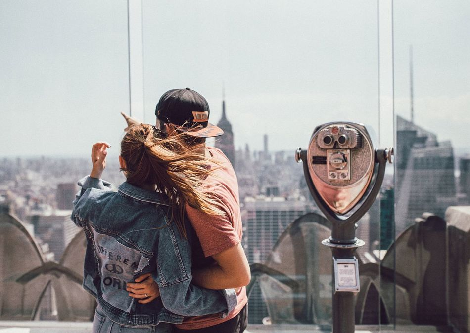 Beautiful stock photos of neujahr, city, lifestyles, outdoors, two people