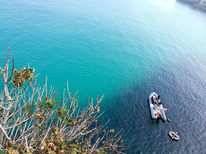 High Angle View Day Water Outdoors Adventure Nature Sea Beauty In Nature Italy Enjoy Colors Look Around  Italia Lets Go Swimming Sunlight Travel Destinations Polignano Apulia Polignano A Mare Blue Water Clear Water Boat autumn bush Backgrounds Enjoying Life Letstravel