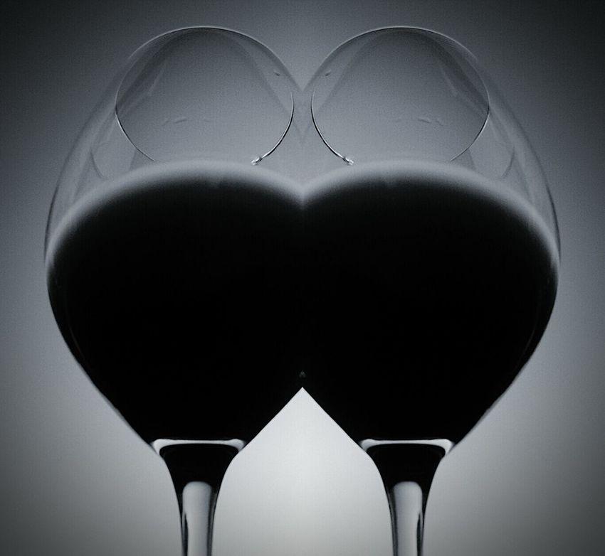 The Cameras Been Drinking, Not Me!Always Drink With Friends Seeing Double In Vino Veritas Bnw_friday_eyeemchallenge Wine