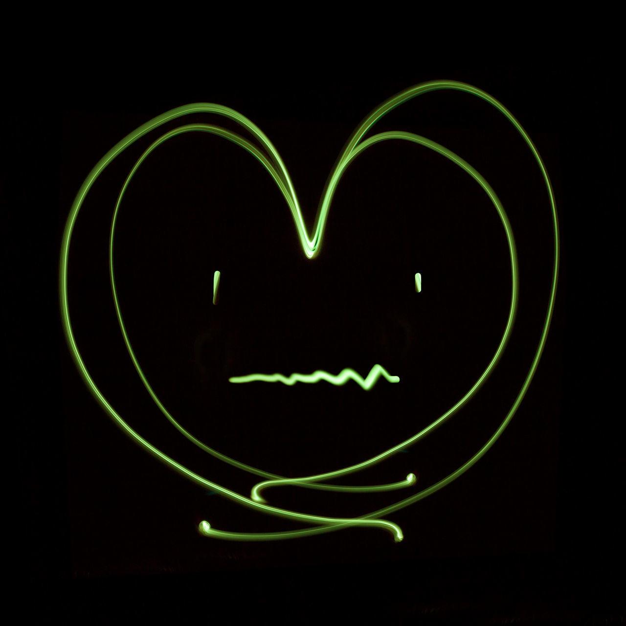 Heart patient Abstract Cold Winter ❄⛄ Colds Concept Design Effect Flu Glow Green Heart Patient Heart ❤ Ideas Light LINE Long Exposure Love ♥ Neon Lights Patient Pulse Sad & Lonely Symbol Valentine's Day  Weak