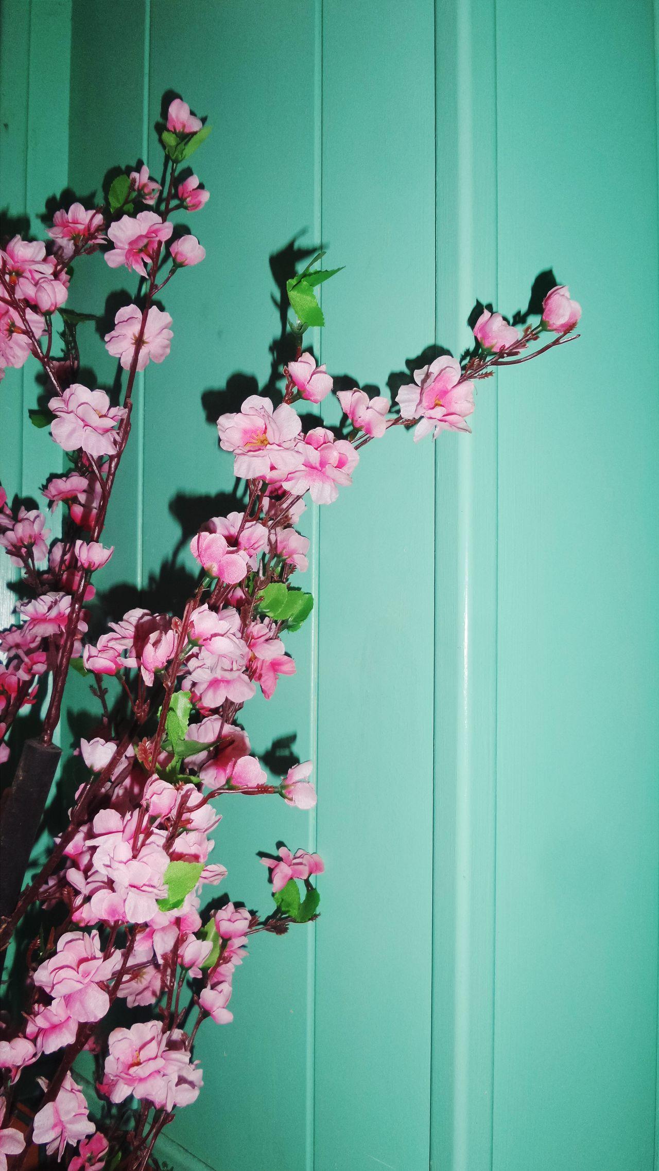Plasticflowers Green Wall Interrior