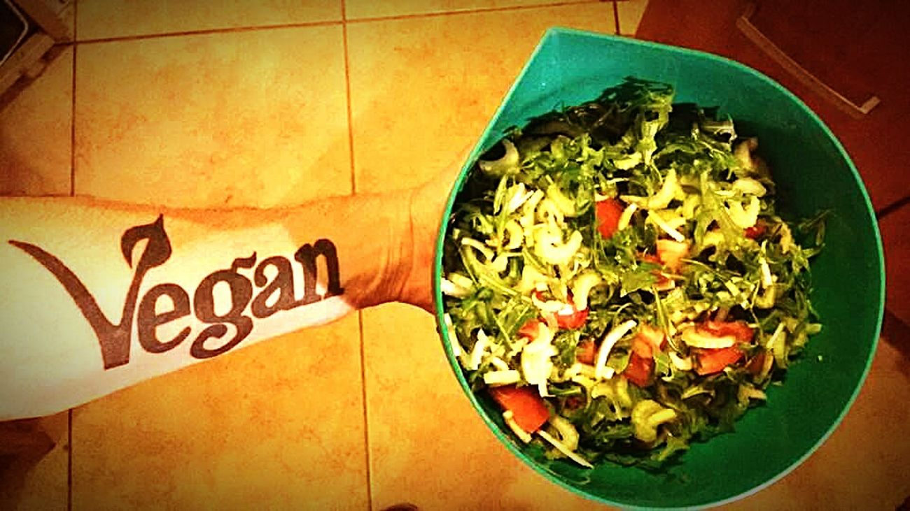 Vegan Food VEGANLIFE Vegan Tattoo Tattoo First Eyeem Photo Veganism Vegans