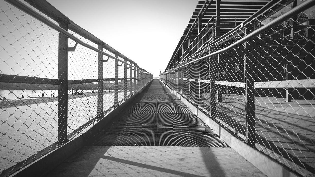 Long way /// Way Going Forward  Future Urban Geometry Perspective Steel Looking Forward Vision