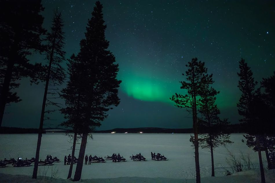 Beautiful stock photos of christmas, Aurora Borealis, Frozen, Green, Lake