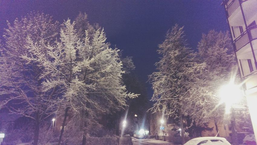 Snow ❄ First Snowfall Munich Ice Cream