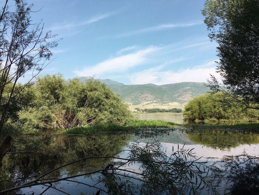 Deer Creek Reservoir. Deer Creek Reservoir