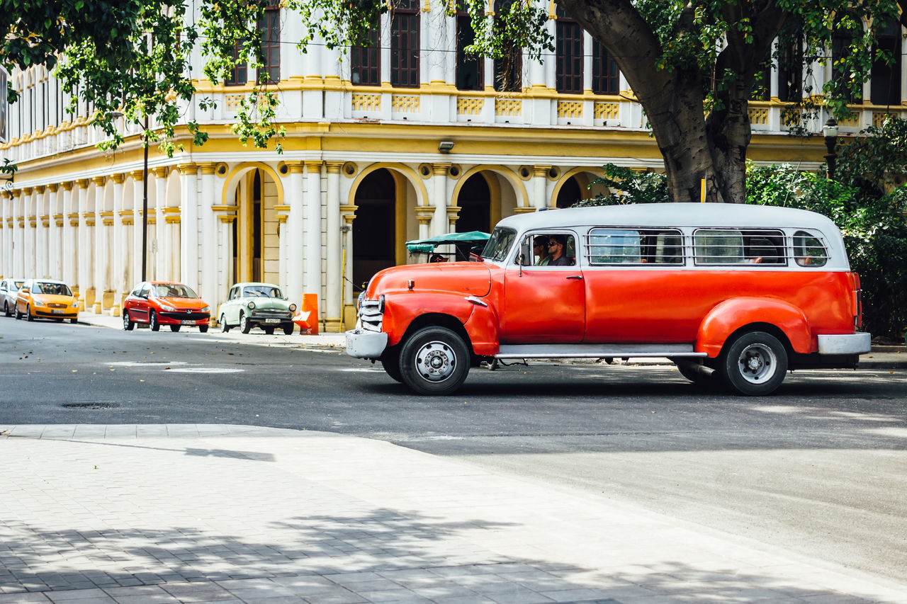 Architecture Building Exterior Built Structure Car City City Life Classic Car Cuba Collection Cuban Cars Land Vehicle Mode Of Transport No People Old Havana Outdoors Streetphotography Transportation Travel