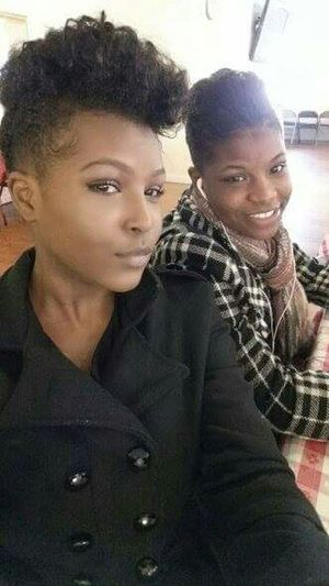 My lil sissy and I Eyebrowsonfleek Church Flow Facebeat Simply Me
