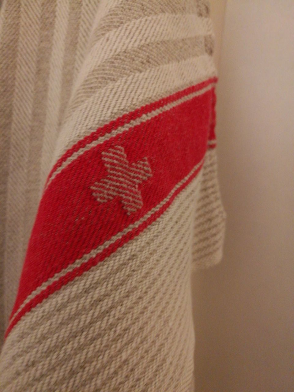 red, textile, close-up, no people, fabric, indoors, day