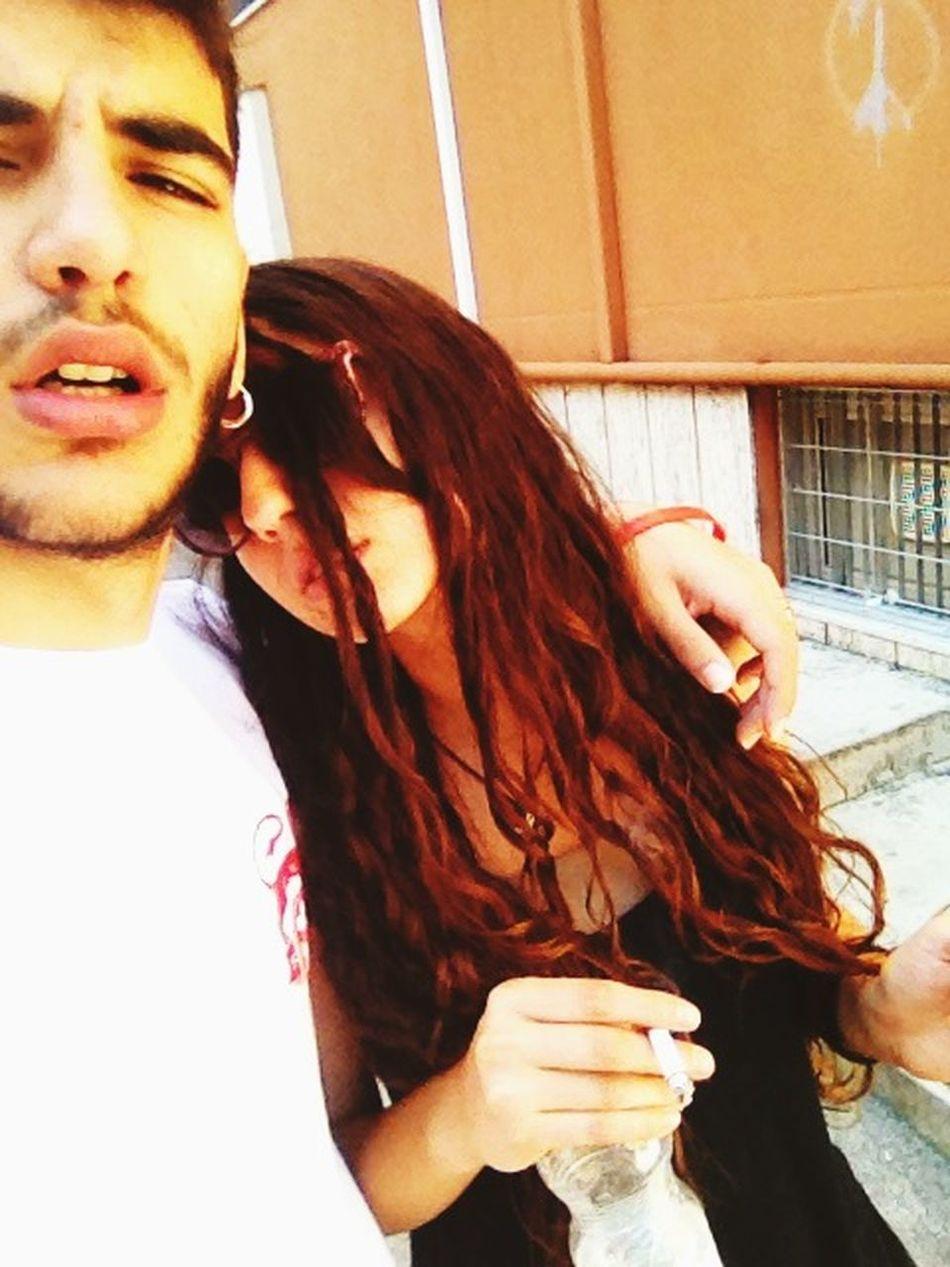 100happydays Day37 Love Cigarette  Happytime Enjoying Life Oneyear Highlife Summer Redhair