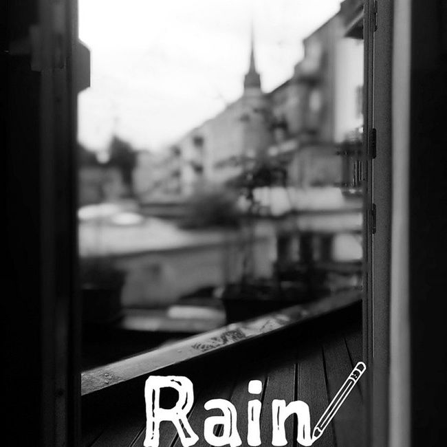 And it's raining again. Not a surprise at all... ? Cologne Weathertweet