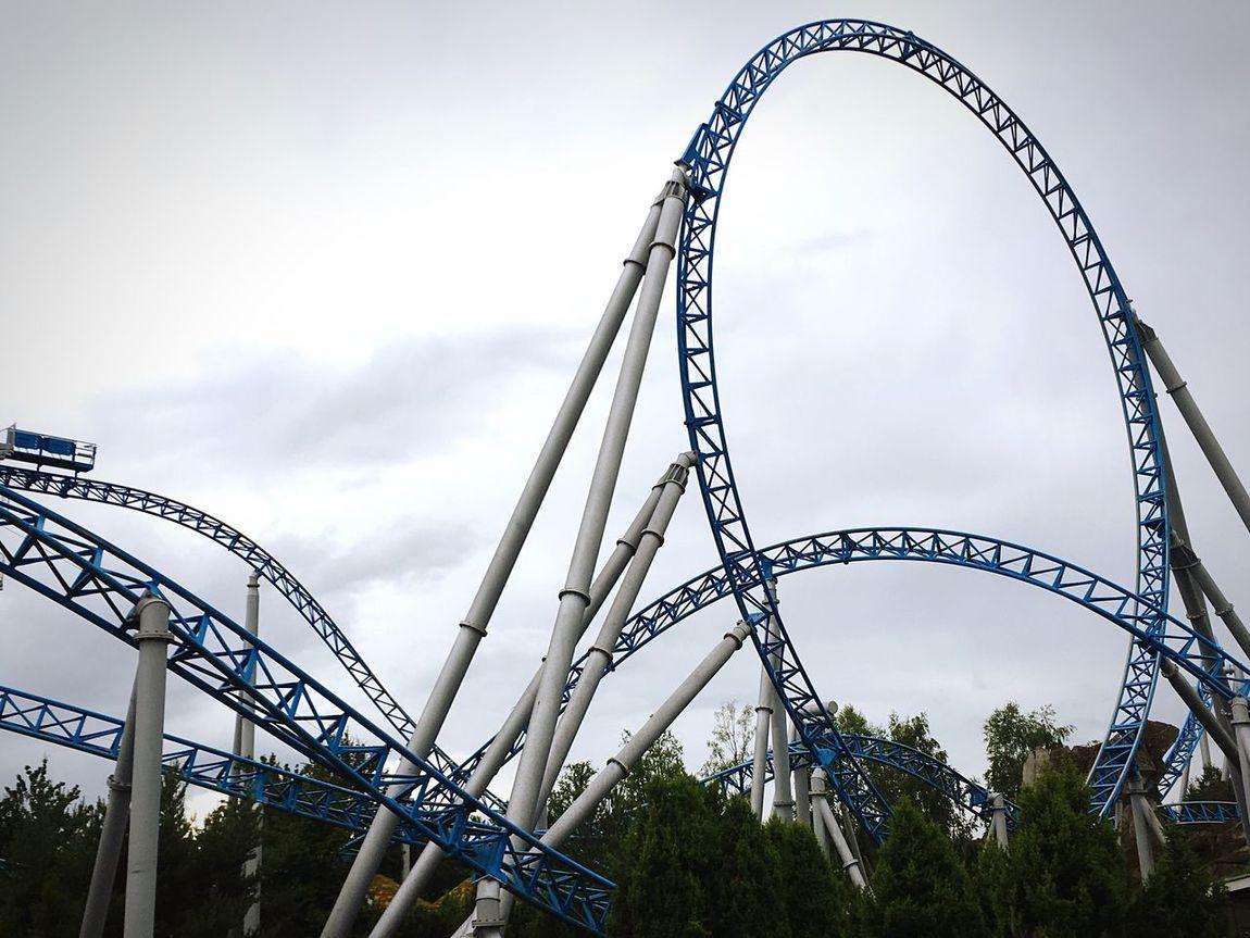 🙀sooo Crazy and so much fun! Roller Coaster Rollercoaster Amusementpark Amusement Parks Crazy Crazy Life Have Fun Fun Enjoying Life EyeEm4Fun EyeEm Best Shots Freaking Out Aaaaaaaaaaah....!!!  Hell Yeah