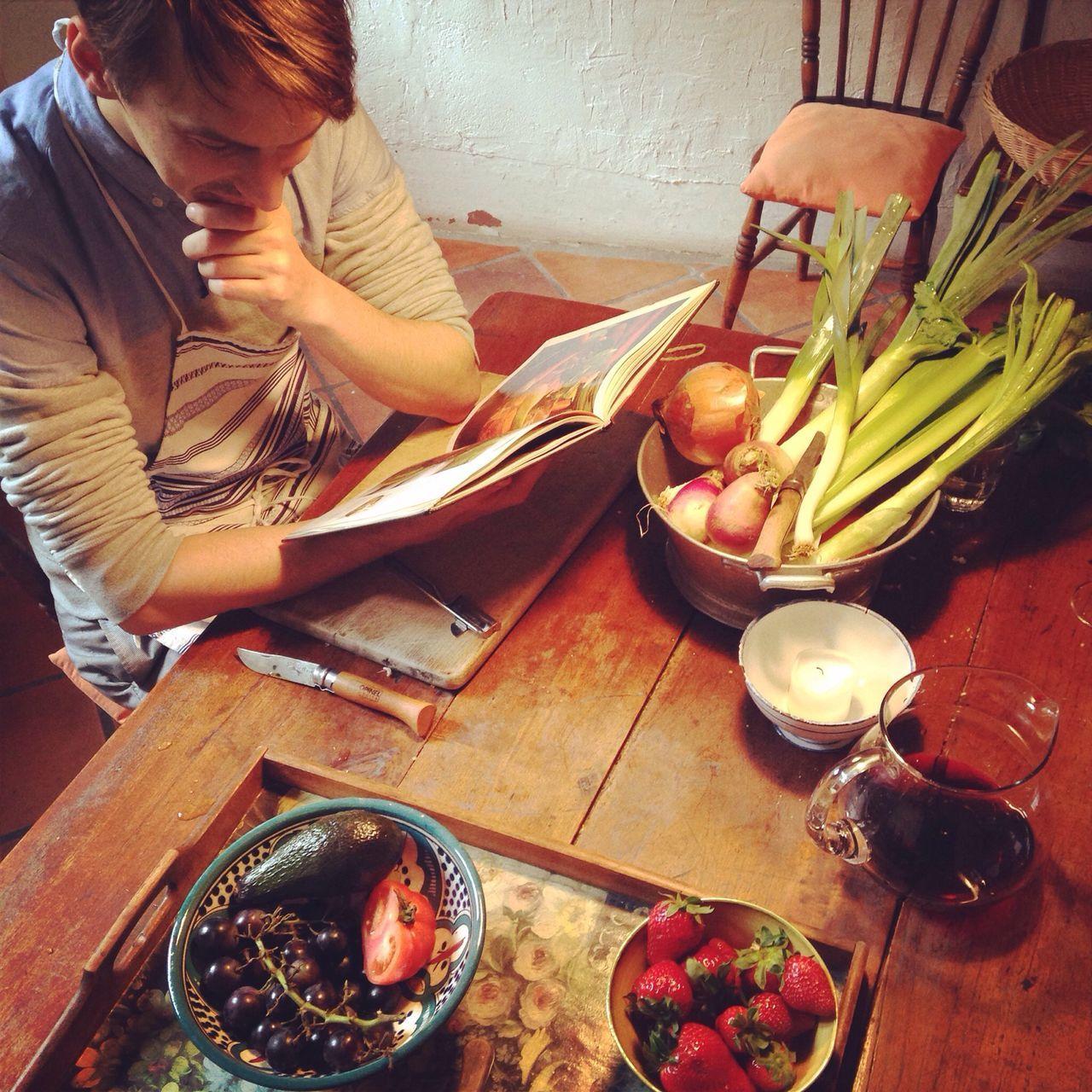 France Cooking Boyfriend