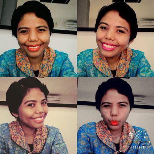 Me Indonesianwomen Redlipstic HappyFriday 💋💃💃💃