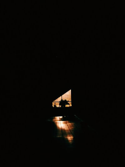Night Illuminated Architecture No People Light And Shadow Copy Space Shadow Silhouette Built Structure City