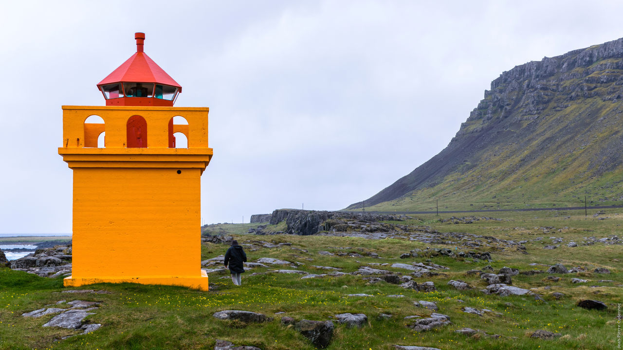 Beautiful stock photos of iceland, Architecture, Built Structure, Cloud - Sky, Cloudy