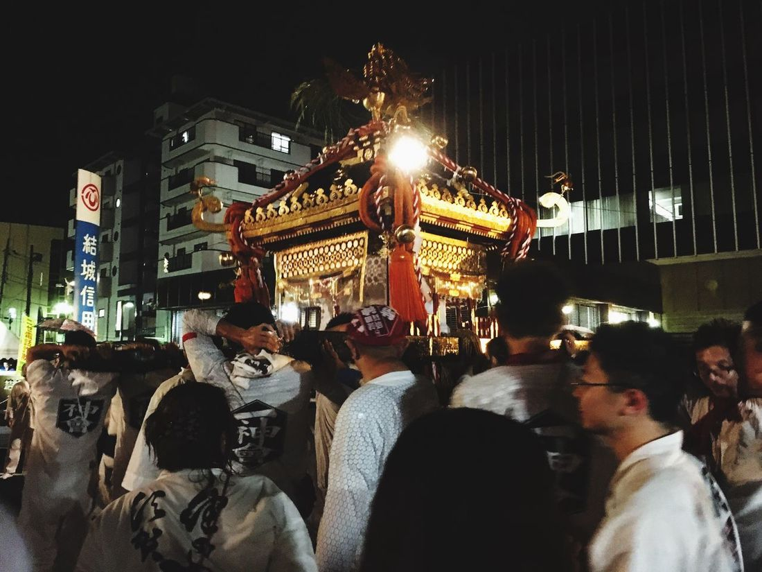 Summer 祭り 神輿 夏 Enjoying Life Happy Enjoy Festival Mikoshi 結城市 Summer Festival わっしょい!