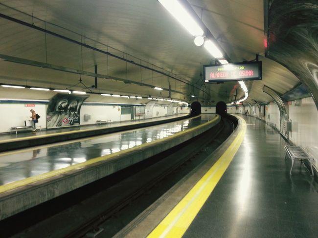 Metro De Madrid  Metro Underground Tunel