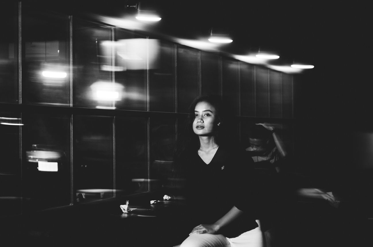 the perfection of being imperfect...   The Portraitist - 2016 EyeEm Awards The Street Photographer - 2016 EyeEm Awards Showcase June Street Photography Street Portrait Portrait Portrait Of A Woman Woman Bwphotography Bwstreetphotography Bwportrait Enjoying Life Lifestyle Flash Photography EyeEm Gallery EyeEm Indonesia Bandung Nikon_photography