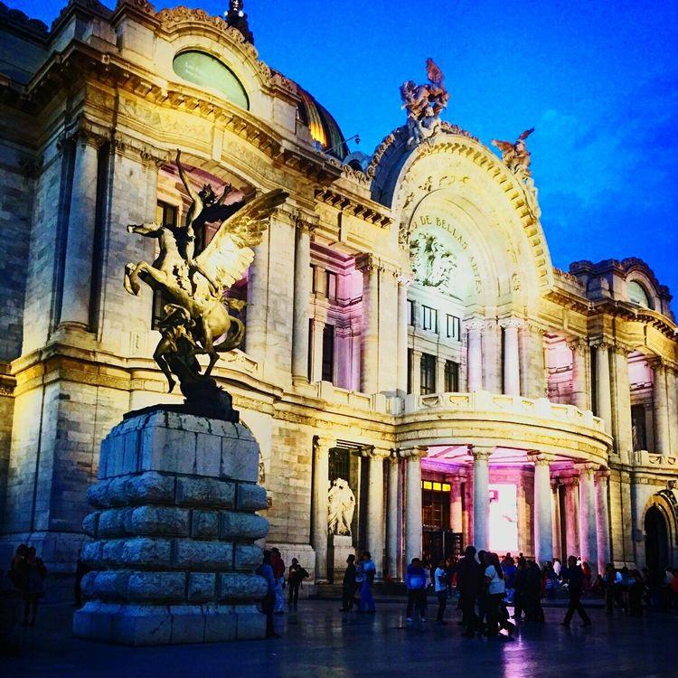 Colour Of Life Bellas Artes, México D.F. Architecture Cdmx