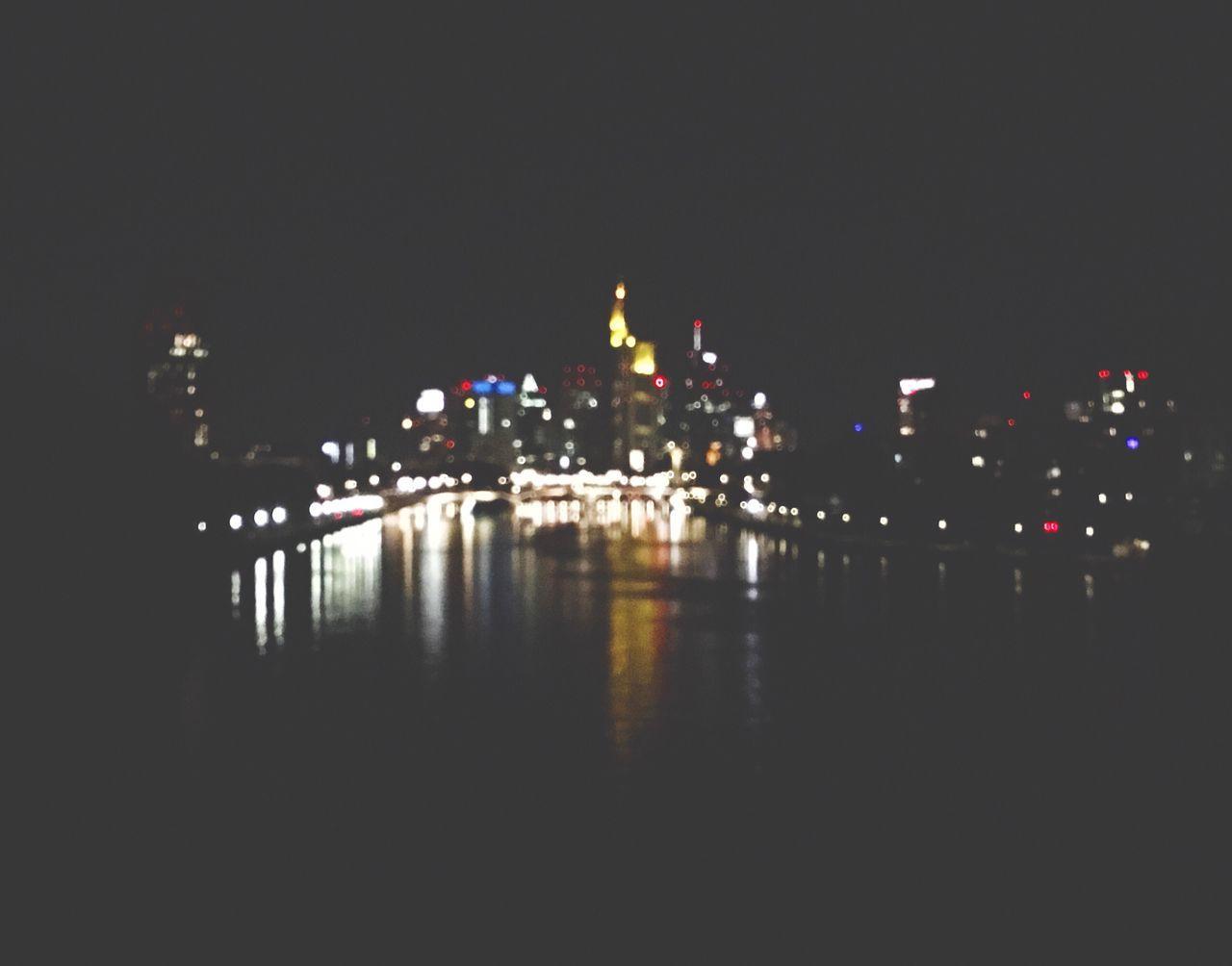 Gute Nacht, FfM! ✨ Skyline Frankfurt Skyline
