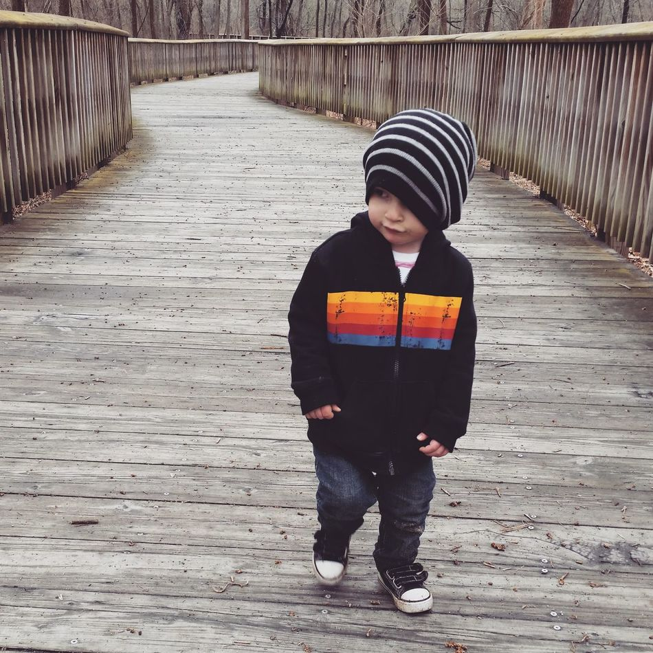 One Person Day Outdoors Nature Kid Child Outdoor Hat Hoodie
