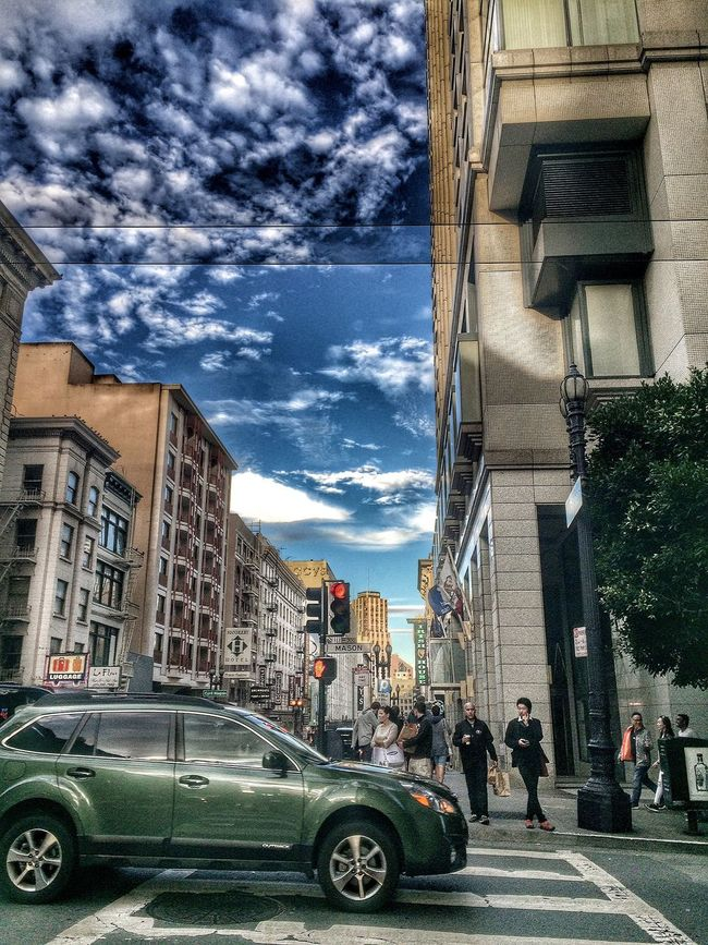 Travel Photography Cloud - Sky Cloud Travel City Life City San Francisco Hdr_Collection Street City Life Sky