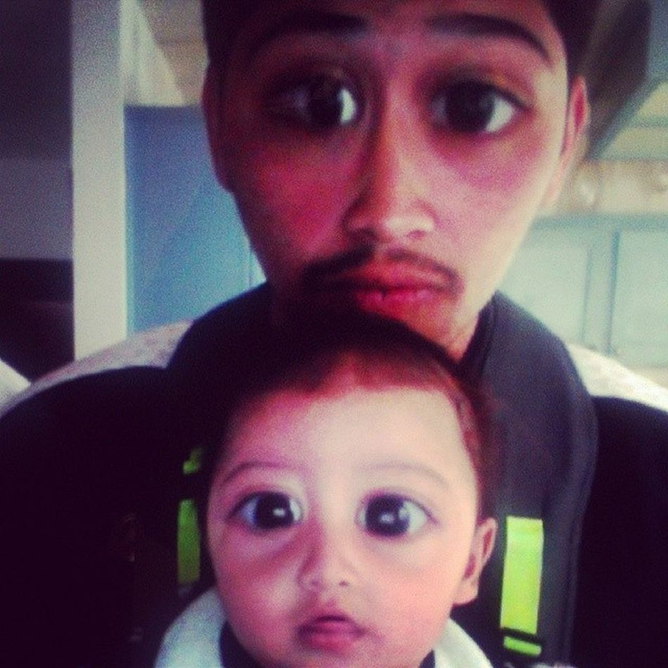Don't we look alike ? Fatherlikeson