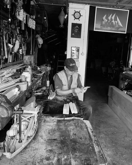 Indoors  Black & White Friday Carpenter's Workshop Ship Building Black & White Photography