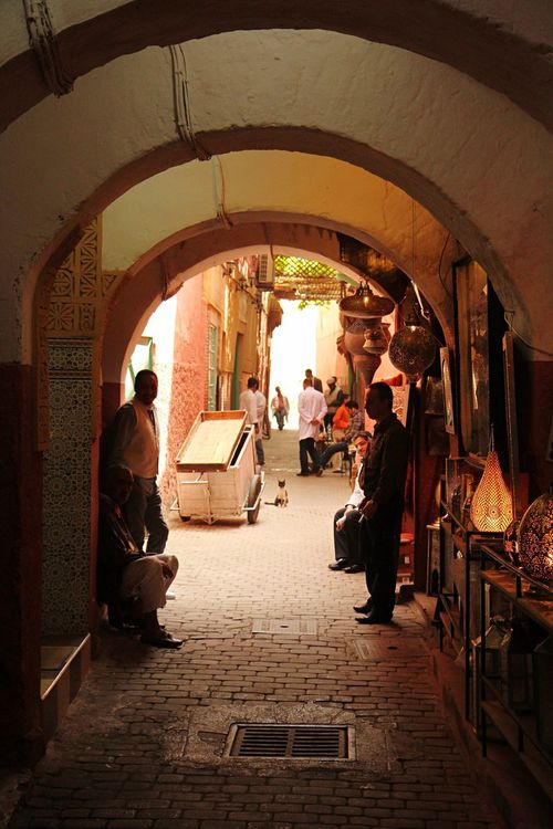 Marrakech La Medina De Marrakech Marrakesh Old Town Arch Architecture Light And Shadow Shadow Shadows & Lights Check This Out