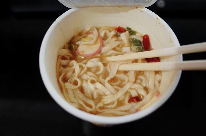 Eating Japan Japanese Food Japanese Culture Udon Noodles Bowl Chopsticks Close-up Day Eat Food Food And Drink Freshness Healthy Eating Indoors  Instant Food No People Noodle Soup Noodles Ready-to-eat Serving Size Soup Soup Bowl Taste Good Tasty Udon Vegetable