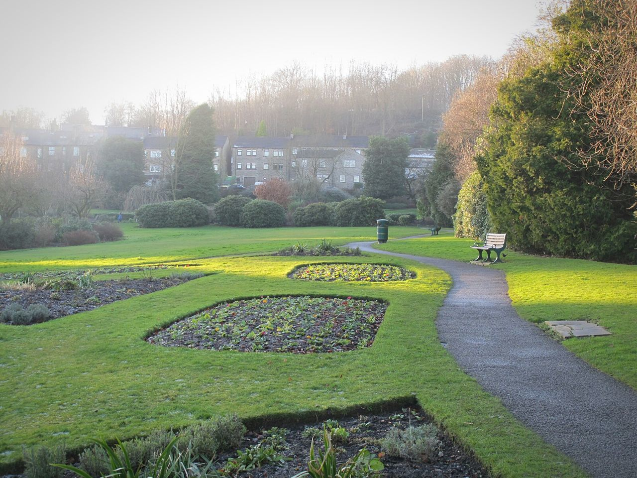 Bronte Sisters Parkscape Tranquil Scene Scenics Fine Art Photograhy Eyeemphotography EyeEmbestshots. Change Landscape Valleyside Brontesisters Frosty Days Cold Temperature Outdoors No People Beauty In Nature Shadow Green Color Sunlight Building Exterior Frosted Winter Freshness Flower Nature