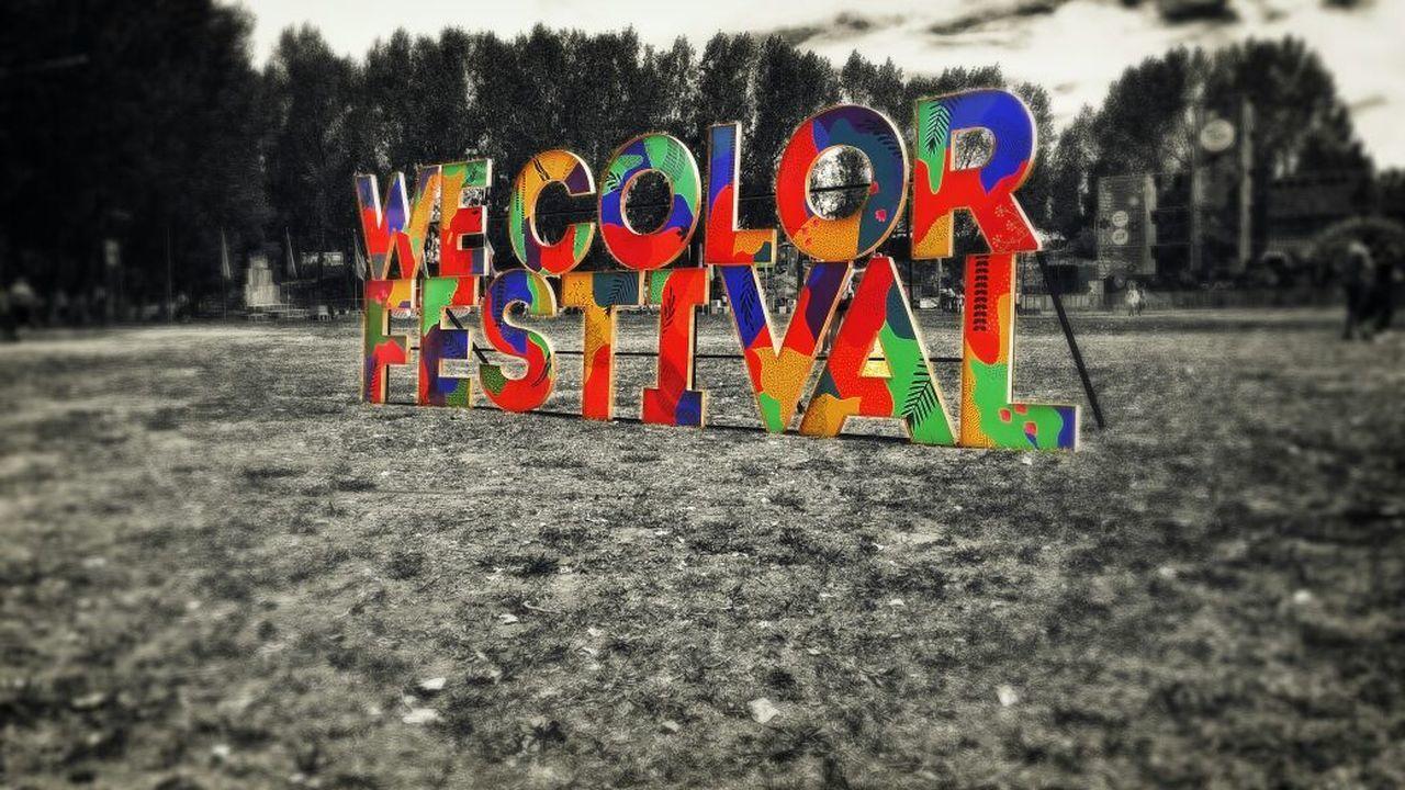 Festival Of Colors We Color Multi Colored Music Festival