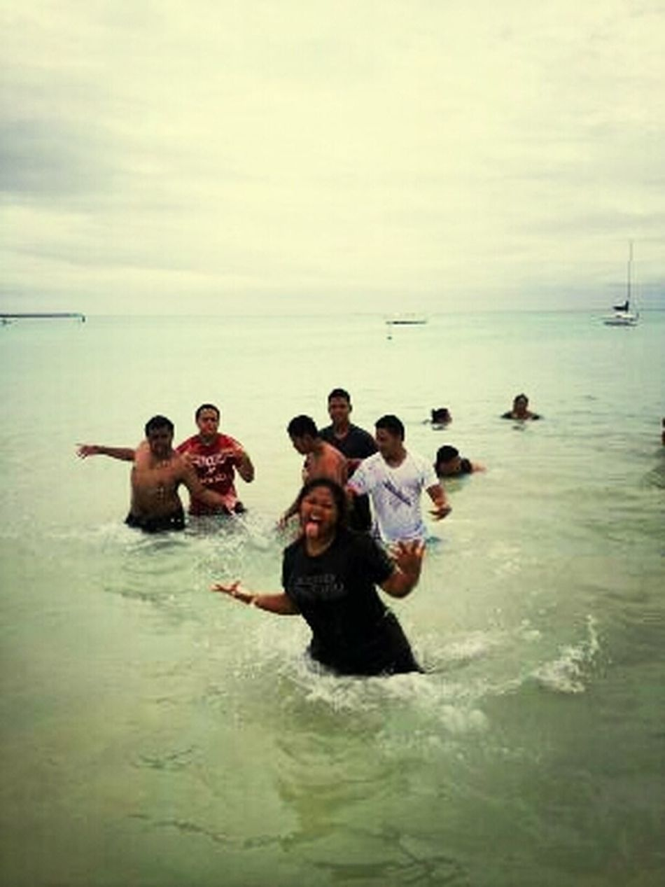 Beach Swimming MYFC Youth Camp