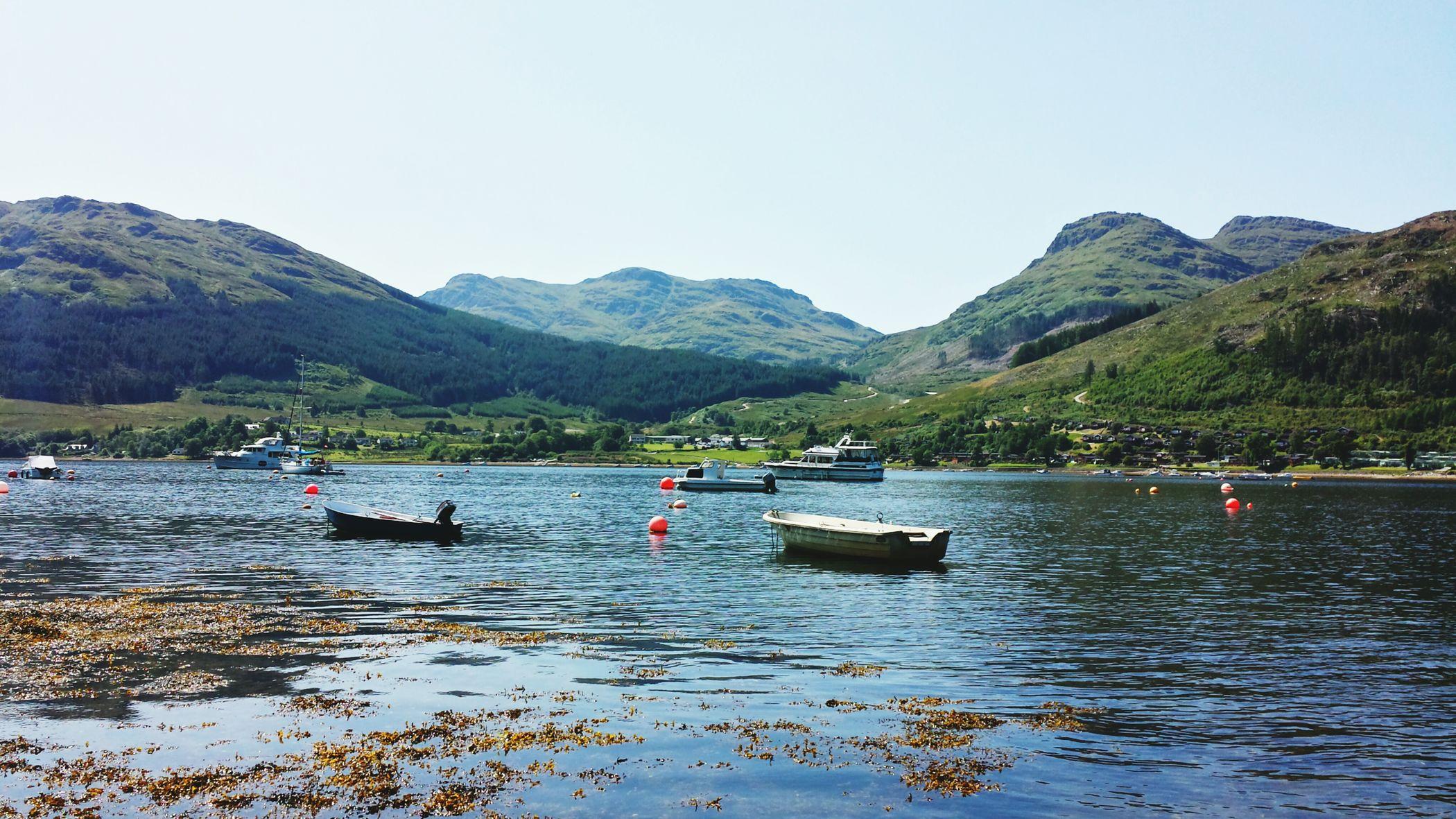 Relaxing Scotland Loch Goilhead