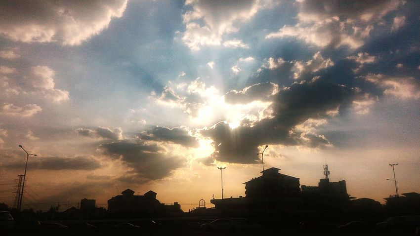 Evening... Sunset Silhouette Cloud - Sky Architecture City Sky No People Built Structure Cityscape Outdoors Travel Destinations Place Of Worship