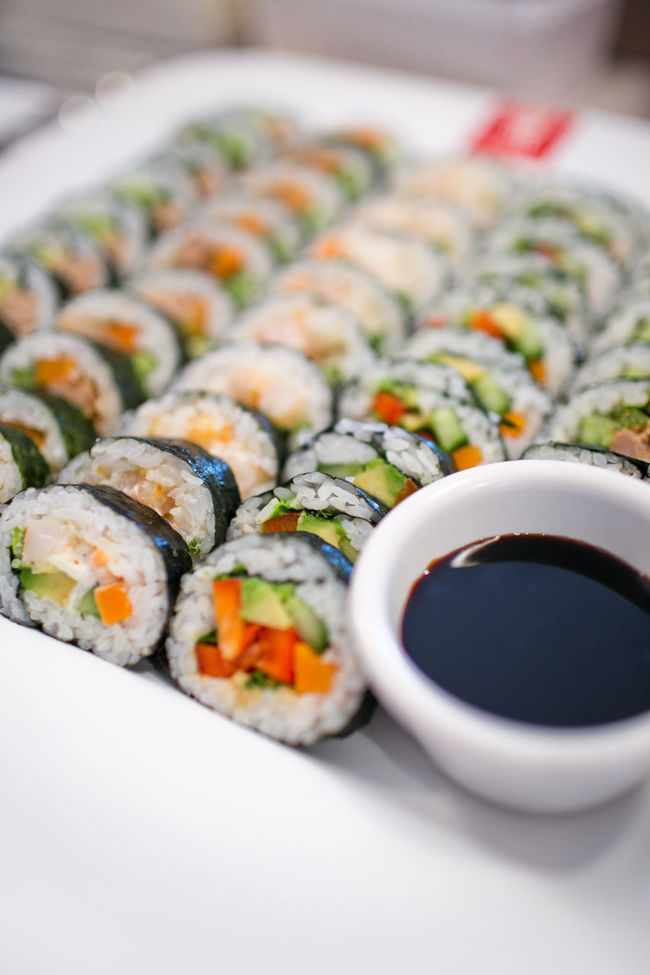 Close-up Food Freshness Indulgence Japanese Food Meal Ready-to-eat Refreshment Roll Selective Focus Soyu Sushi Sushiroll