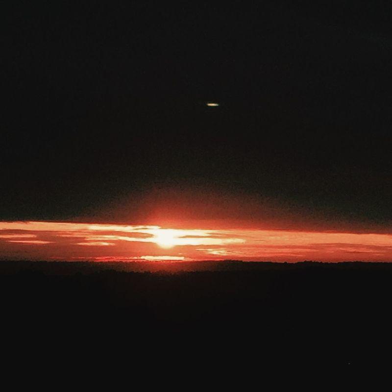 Wake up Sunday with a sunrise :-)