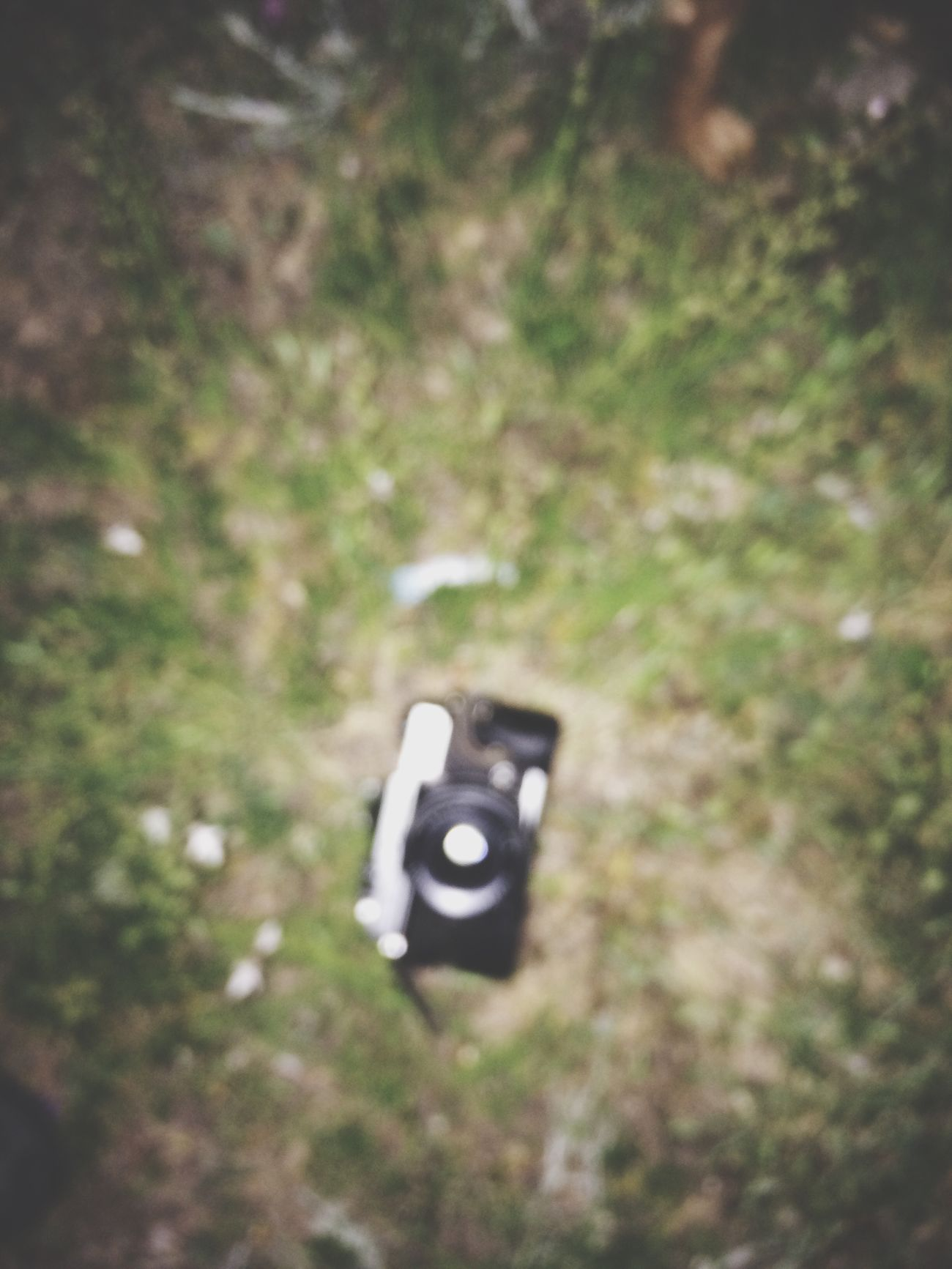 Camera - Photographic Equipment Photography Themes Technology Photographing Old-fashioned No People Day Close-up Outdoors Grass Grassy Floor Captured Moment The Street Photographer - 2017 EyeEm Awards EyeEmNewHere Break The Mold