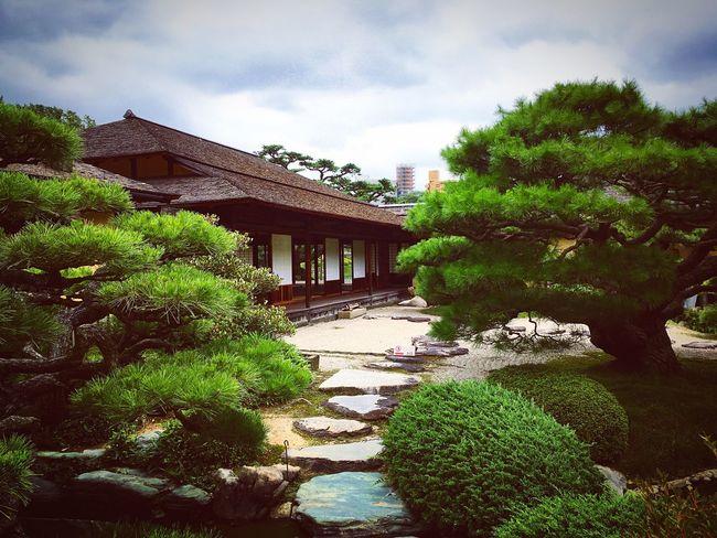 栗林公園 掬月亭 高松 香川県 Relaxing