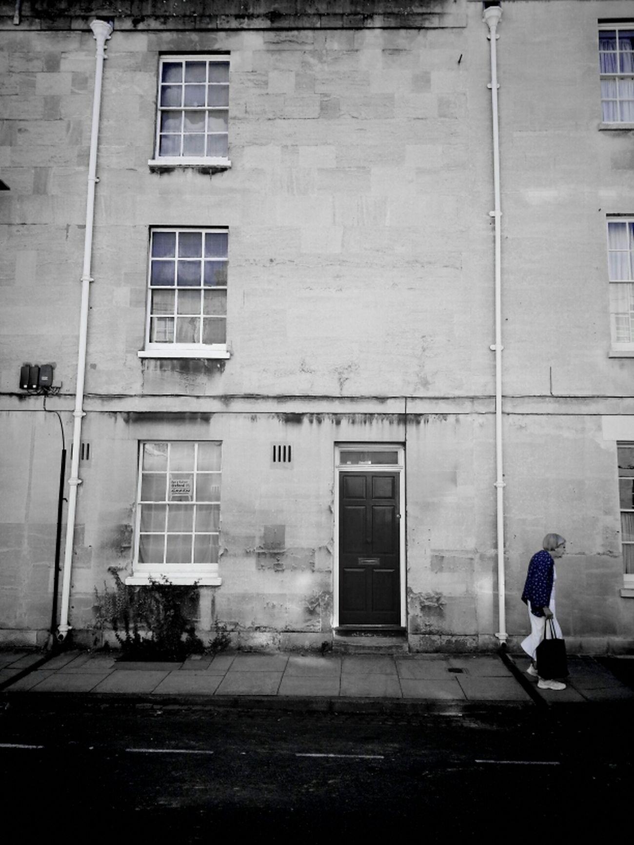 The Old Girl Shuffle Streetphotography Old Blue Girl WeAreJuxt.com TheMinimals (less Edit Juxt Photography) Android Oxford Andrographer Shuffle Street