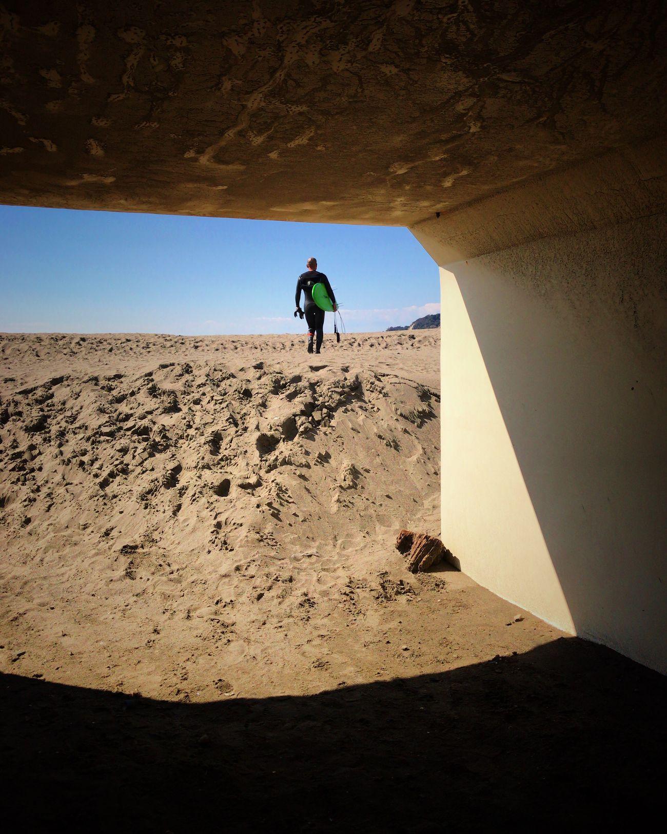 Beachphotography Sand Sunlight River View Beach Tunnel