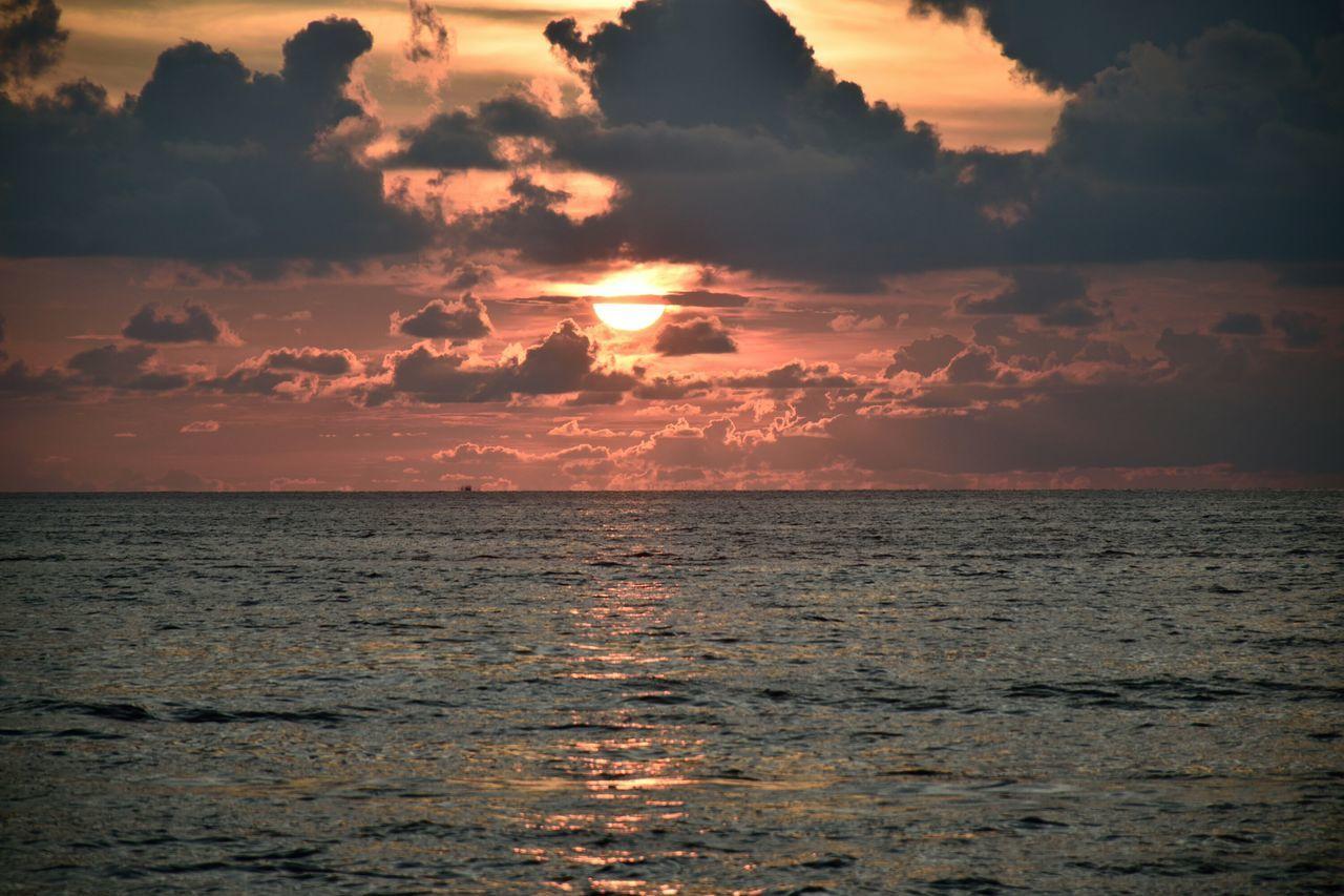 Clouds Sea Sunset Horizon Orange Magistic Phuket Nature Golden Hour Scenic Scenic Water Amazing Naturebeauty