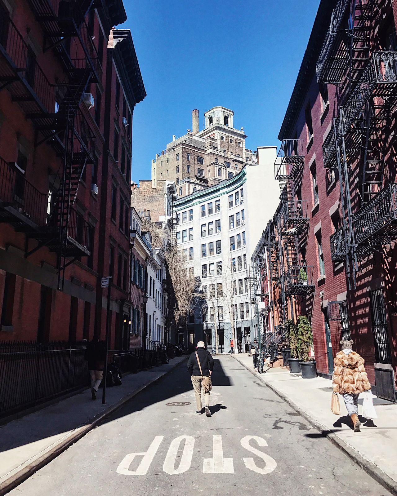 NYC NYC Photography Gay Street New York Shadows Street Photography